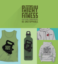 Philthy Fitness branding