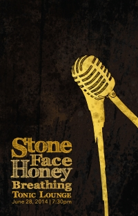 Stone face honey